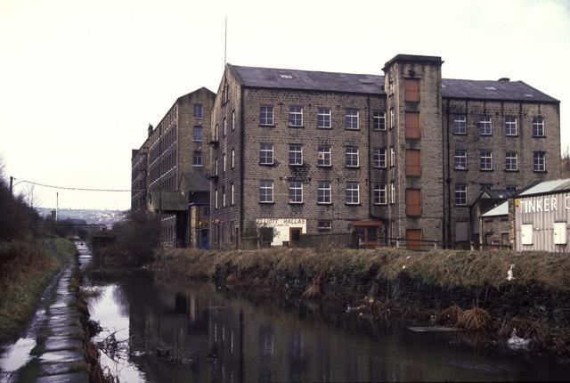 Britannia Mills (formerly Firths mill)