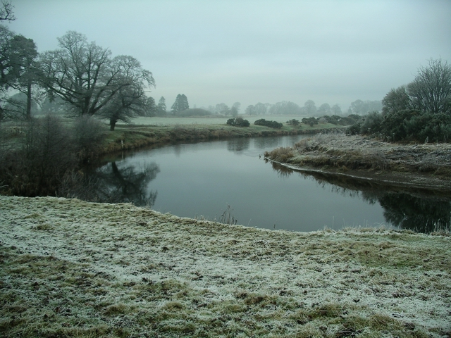 A cold and frosty morning, River Annan