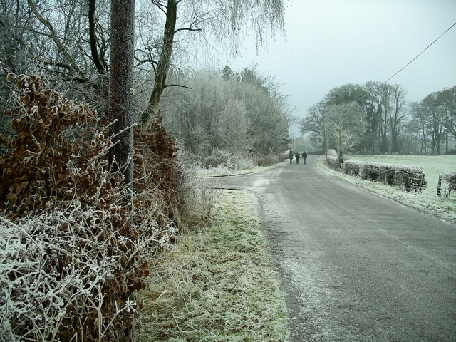 Frosty morning, Halleaths