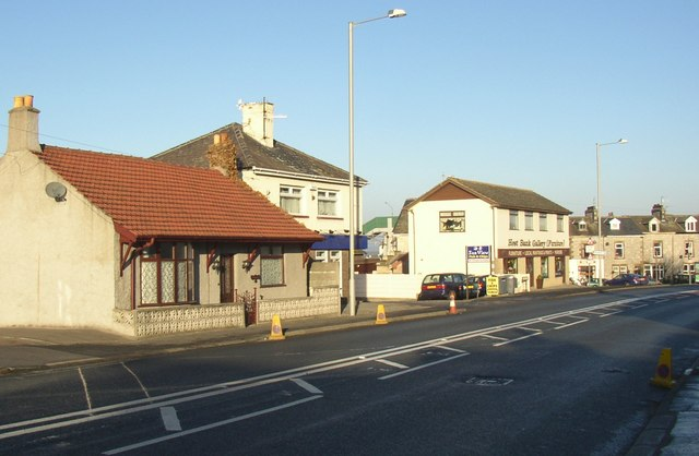The A5105, Hest Bank, Hest