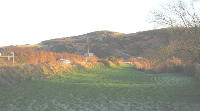 The road to Bont Newydd