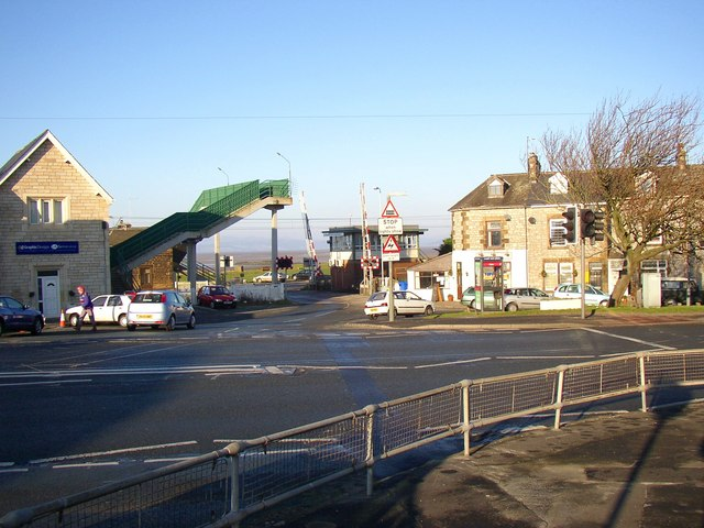 The level crossing, Hest Bank (Slyne-with-Hest CP)