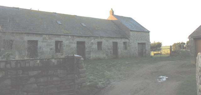 Older farm buildings at Pen-y-Bont Farm