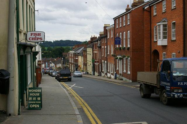 Old Street, Ludlow