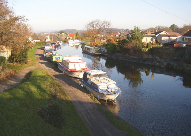 The canal from Hest bank Bridge (Slyne-with-Hest CP)