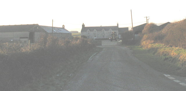 Rhydolion Farm from the Glan Soch T-junction