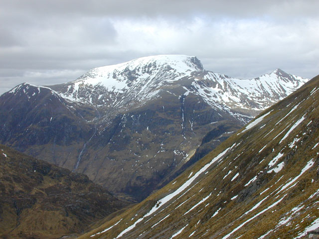 Western slopes of An Garbhanach