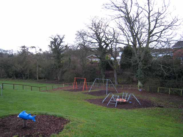 Children's play area, Wydon Park, Hexham