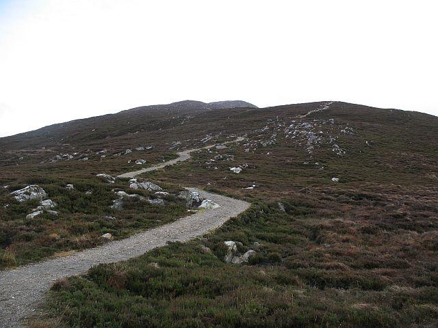 The new  Schiehallion path