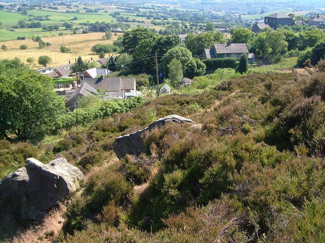 Slopes of Mow Cop