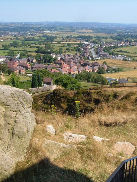 Southeast from Mow Cop