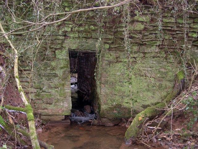Culvert, Wormsley priory site