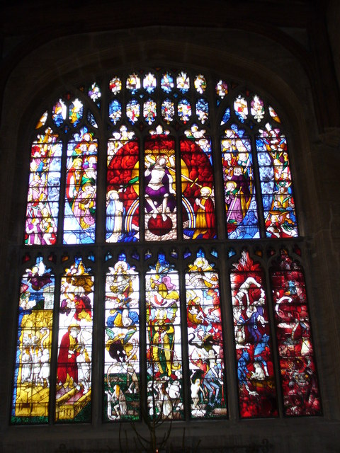 St Mary's, Fairford - West Window