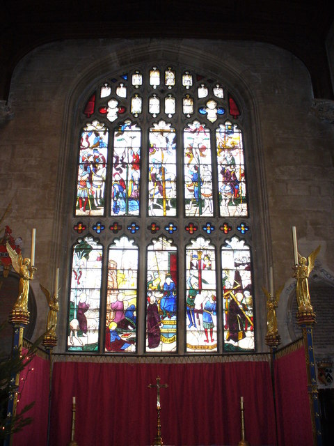 St Mary's, Fairford - East Window