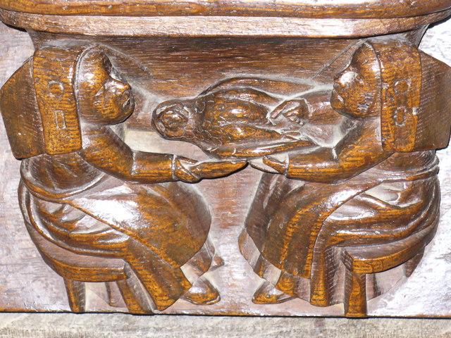 St Mary's, Fairford - Misericord