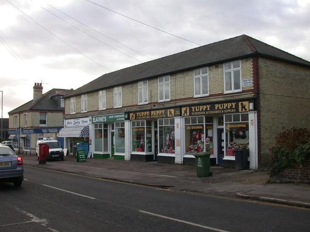 Shops on Arbury Road