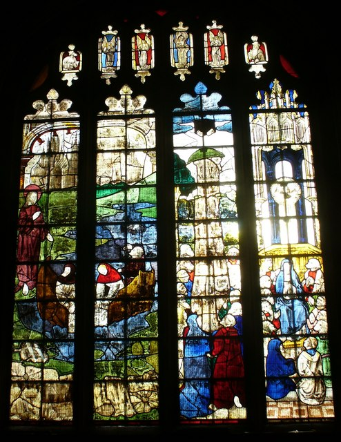 St Mary's, Fairford - Medieval Stained Glass