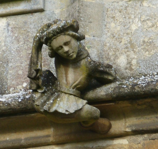 St Mary's, Fairford - Gargoyle