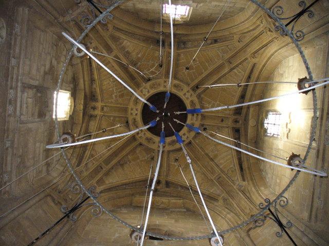 St Mary's, Fairford - Beneath the Tower