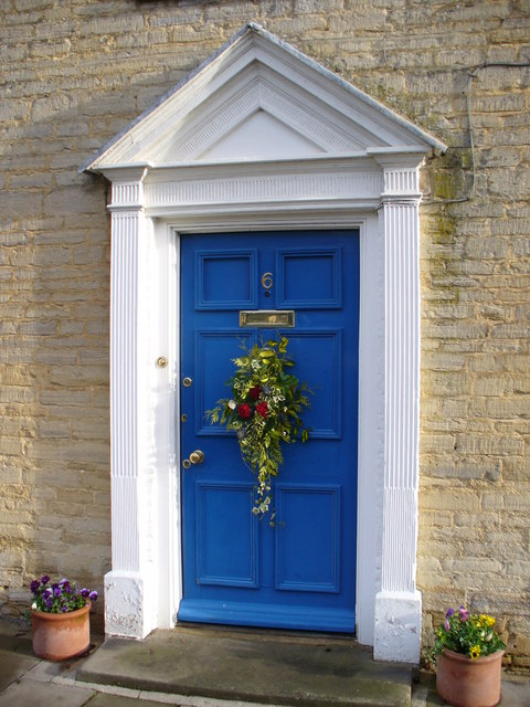 Georgian Doorway. Fairford High Street
