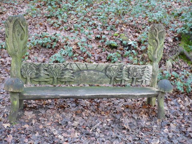 A seat in Shoreham Woods