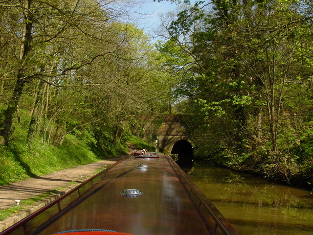 Approaching Ellesmere Tunnel from the west