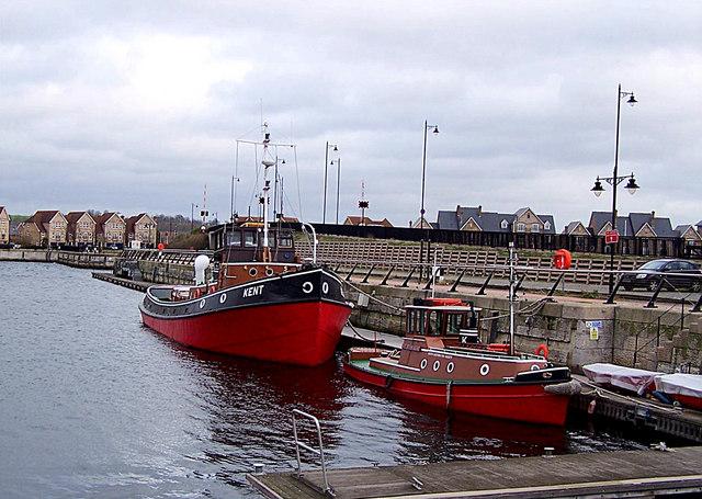 Tugs at Chatham Dockyard