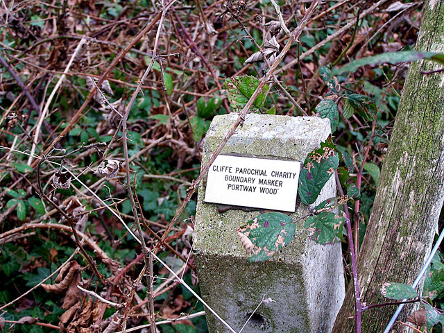 Boundary marker