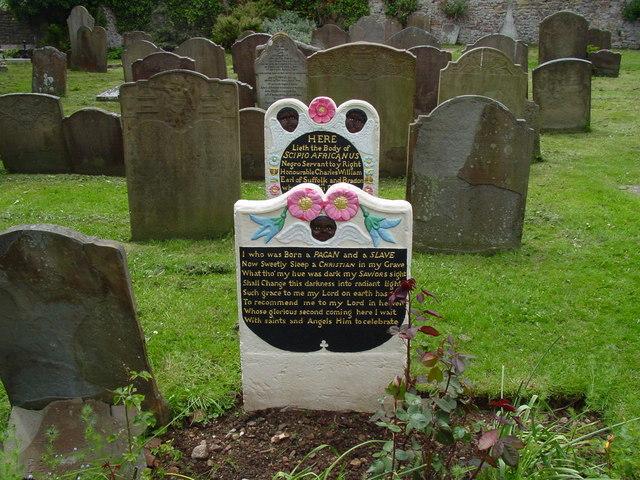Negro servant graves, Henbury churchyard