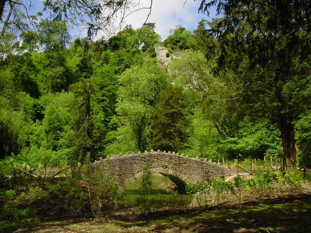 Footbridge, Blaise Castle Estate.