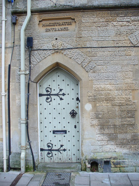 Magistrates' Doorway, Fairford