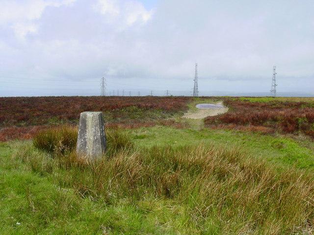 Summit of Mynydd Twyn-glas above Cwmbran