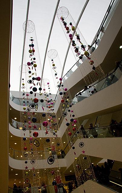 Escalators in John Lewis'