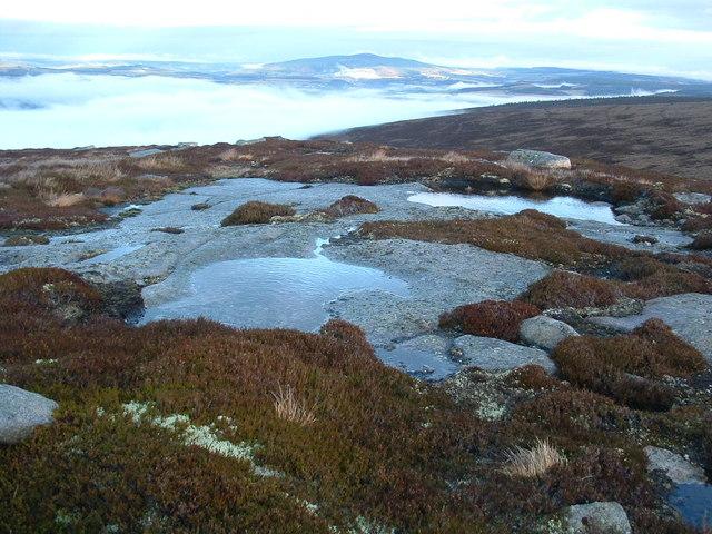 Cairn Guish summit