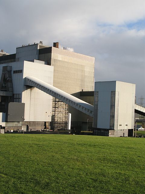 Cockenzie Power Station - West elevation