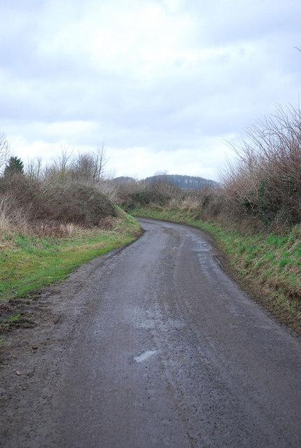 Stalbridge Lane heading north