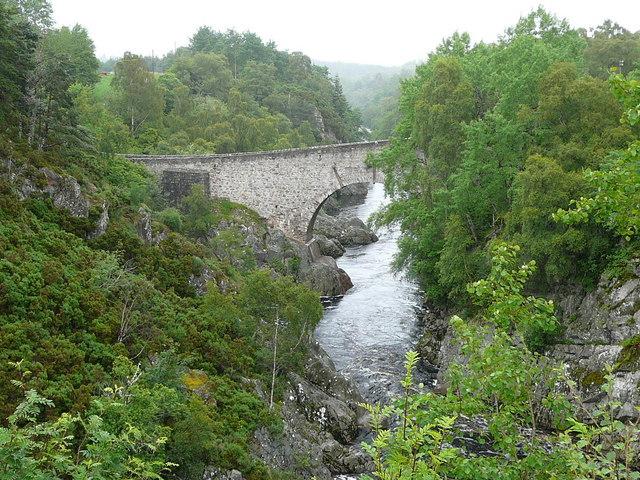 Dulsie Bridge on the River Findhorn