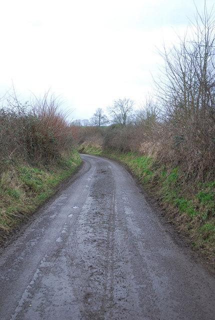 Stalbridge Lane heading south