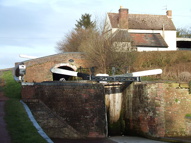 Botterham Staircase, Staffordshire and Worcestershire Canal