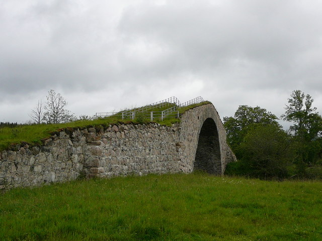 Sluggan Bridge on General Wade's Military Road
