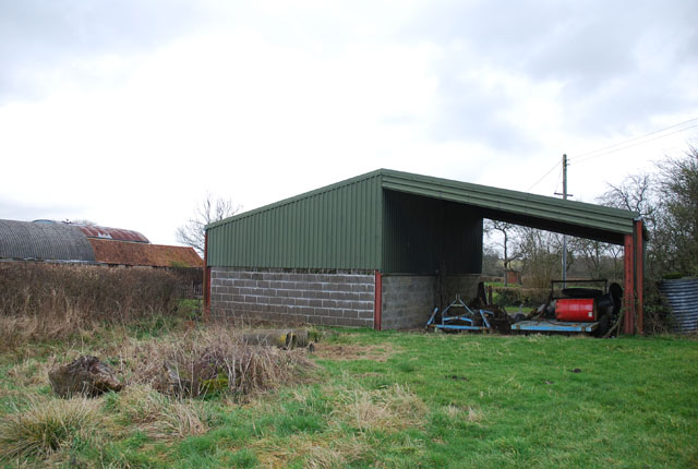 Outbuilding at Holebrook Green Farm