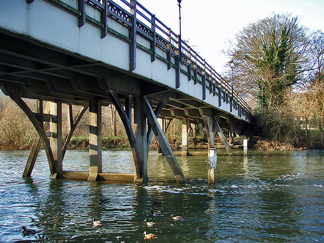 Road Bridge at Goring and Streatley