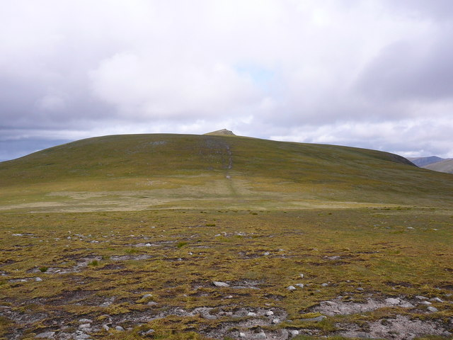On the plateau between Carn Ban Mor and Sgor Gaoith