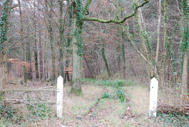 Entrance to Brickles Wood