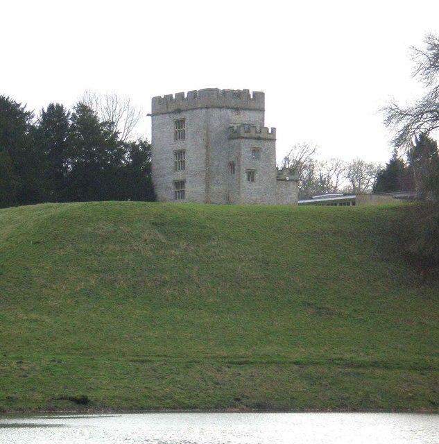Castle Keep in Newton St. Loe College