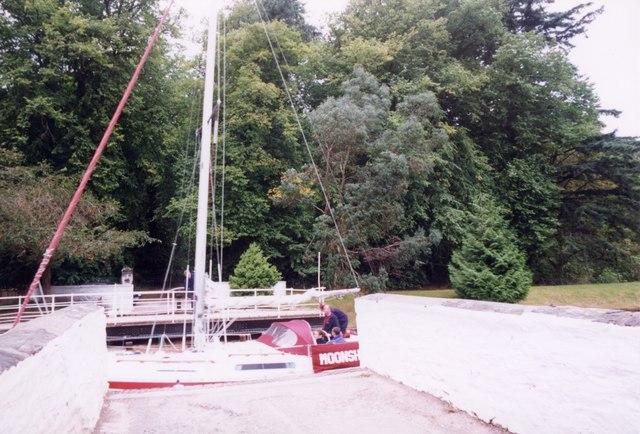 Oakfield swing bridge, Lochgilphead