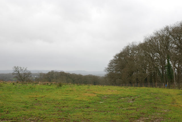 Shooting range on Hydes Farm