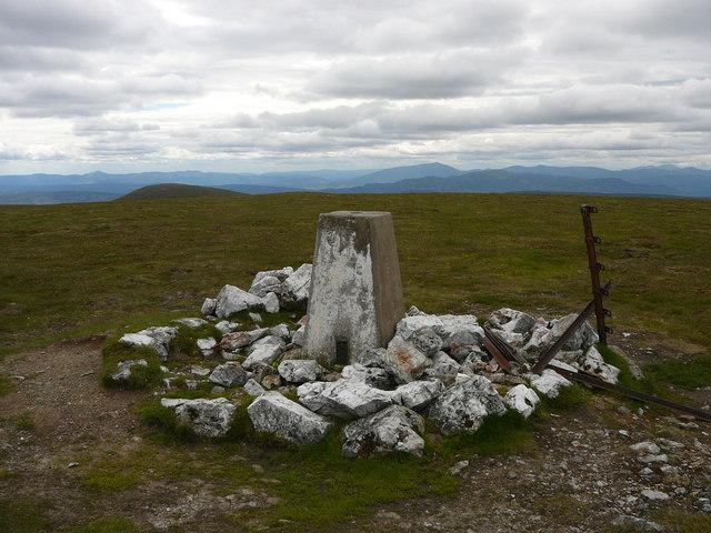 Summit of A' Bhuidheanach Bheag