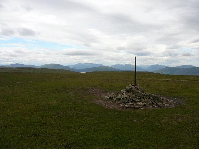 Summit of Carn na Caim