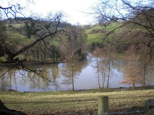 Northern Lake in Newton St.Loe College